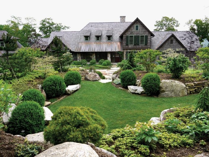 Amazing Evergreen Landscaping