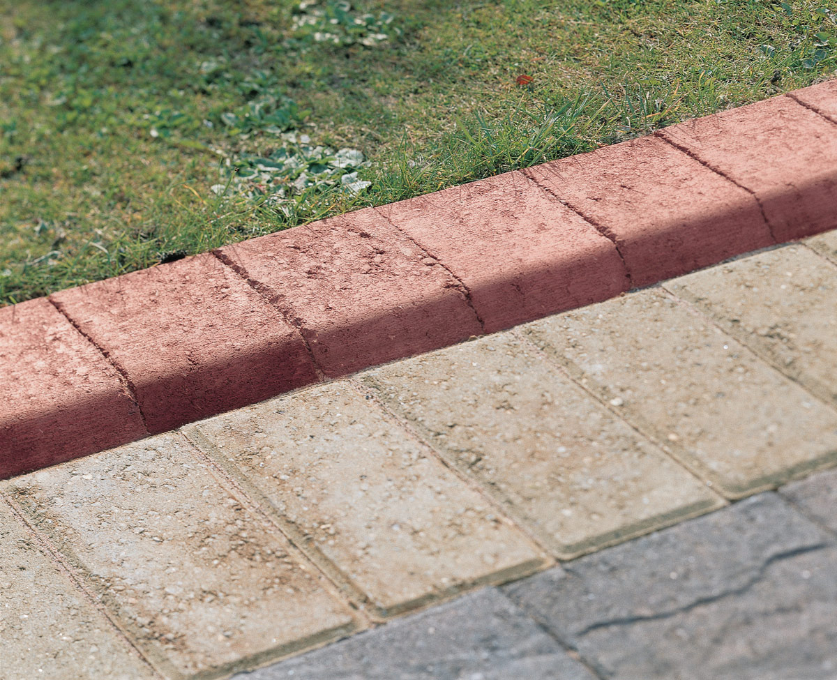 Image of: Edging Stones For Landscaping Brick