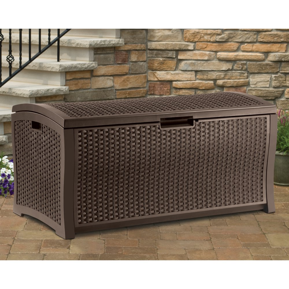 Image of: Awesome Outdoor Storage Box For Cushions