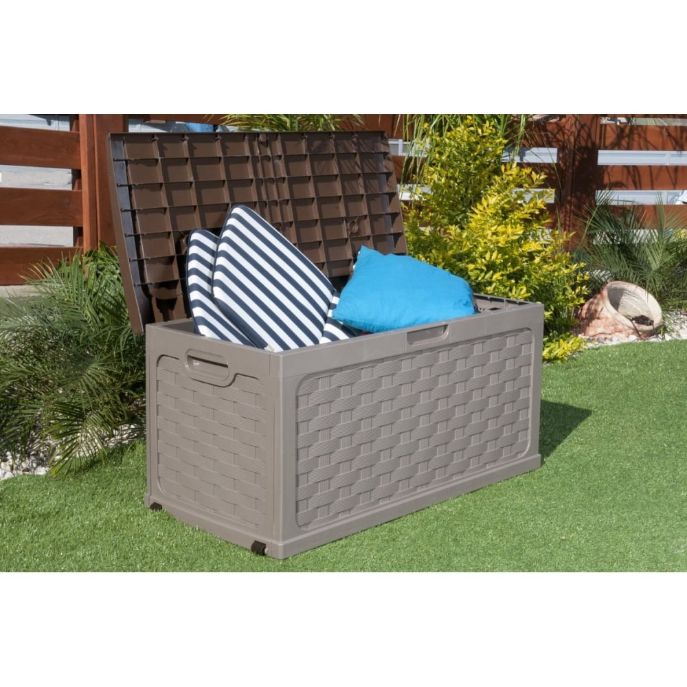 Image of: Cool Outdoor Storage Box For Cushions