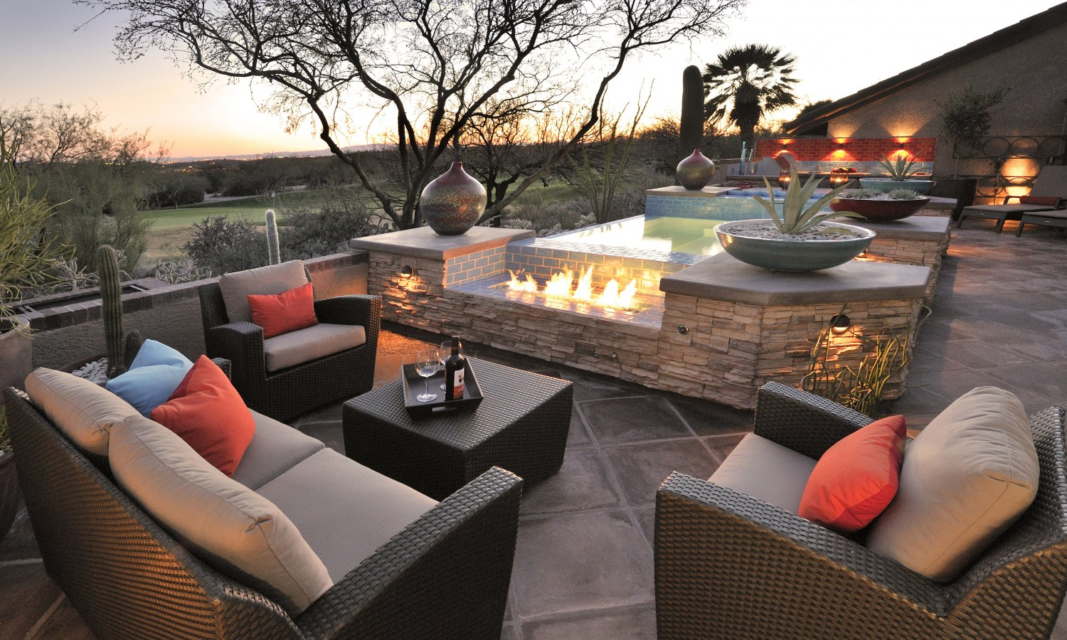 Image of: Famous Eldorado Outdoor Fireplace