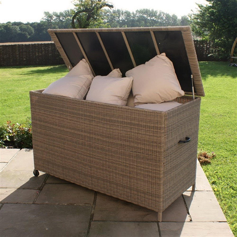 Image of: Function Outdoor Storage Box For Cushions