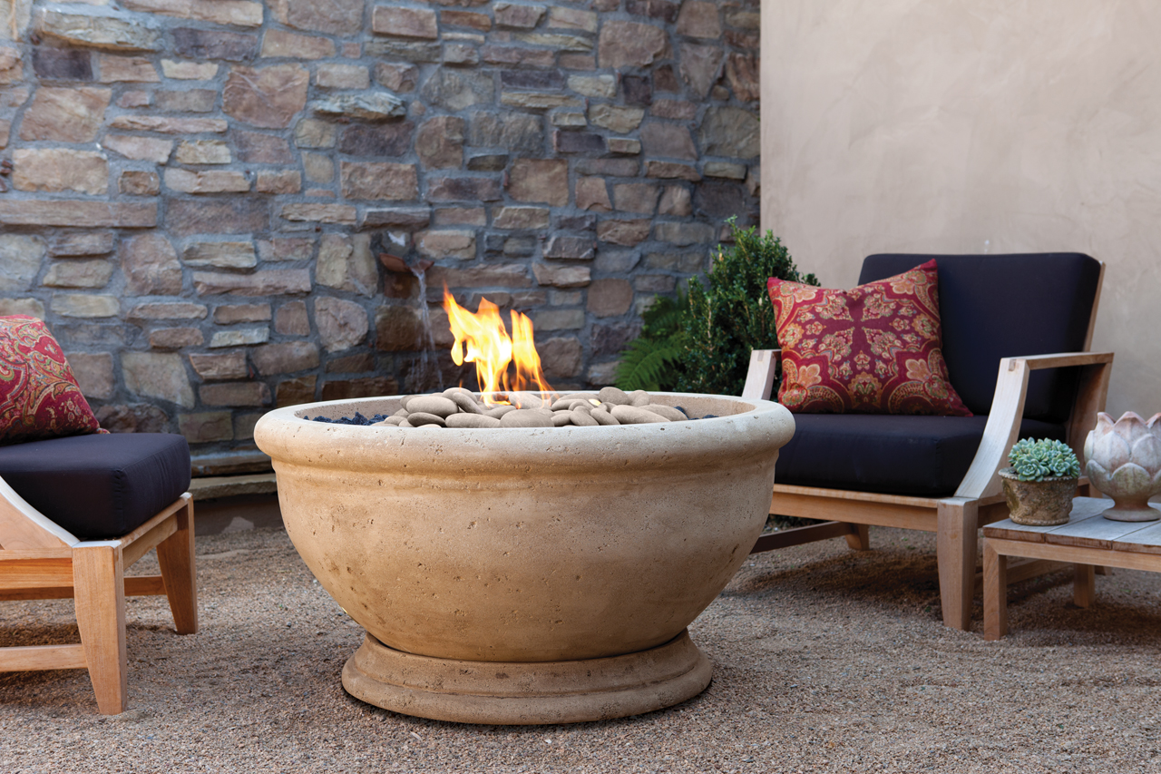 Image of: New Eldorado Outdoor Fireplace Design