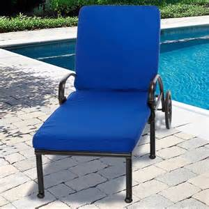 Image of: Outdoor Lounge Cushions Blue
