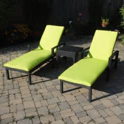 Outdoor Lounge Cushions Yellow