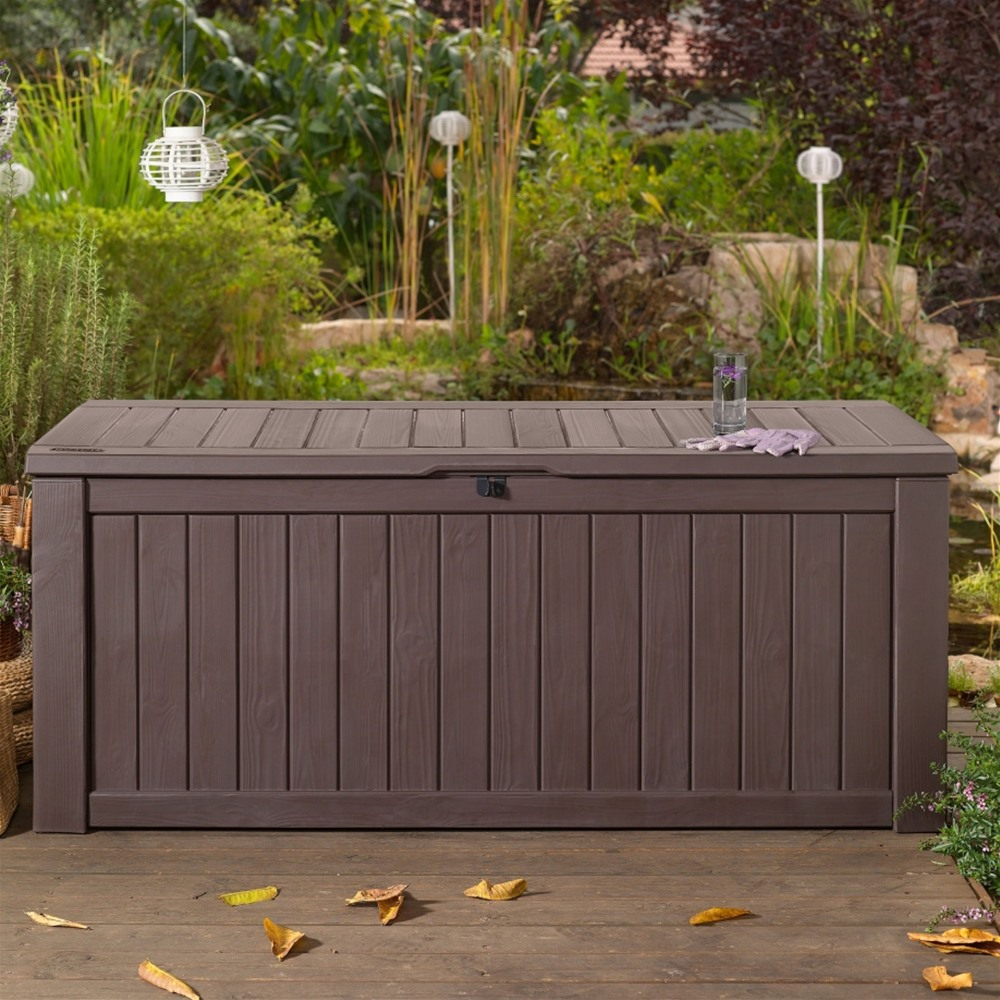 Image of: Plan Outdoor Storage Box For Cushions