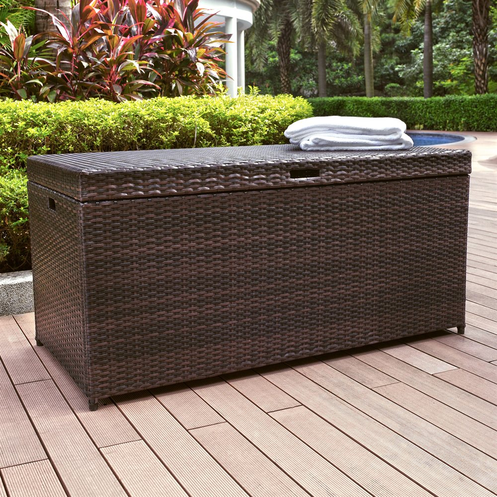 Image of: Popular Outdoor Storage Box For Cushions