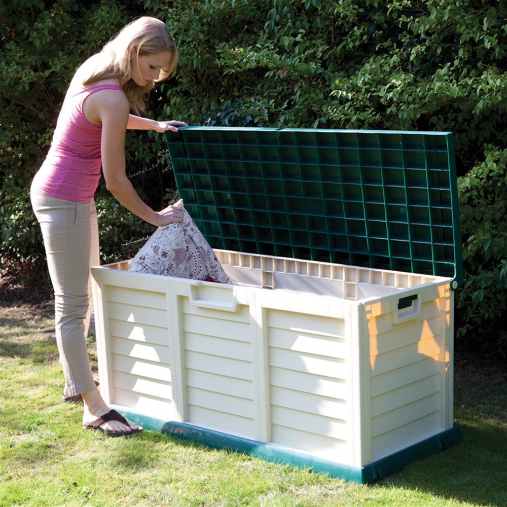 Image of: Save Outdoor Storage Box For Cushions