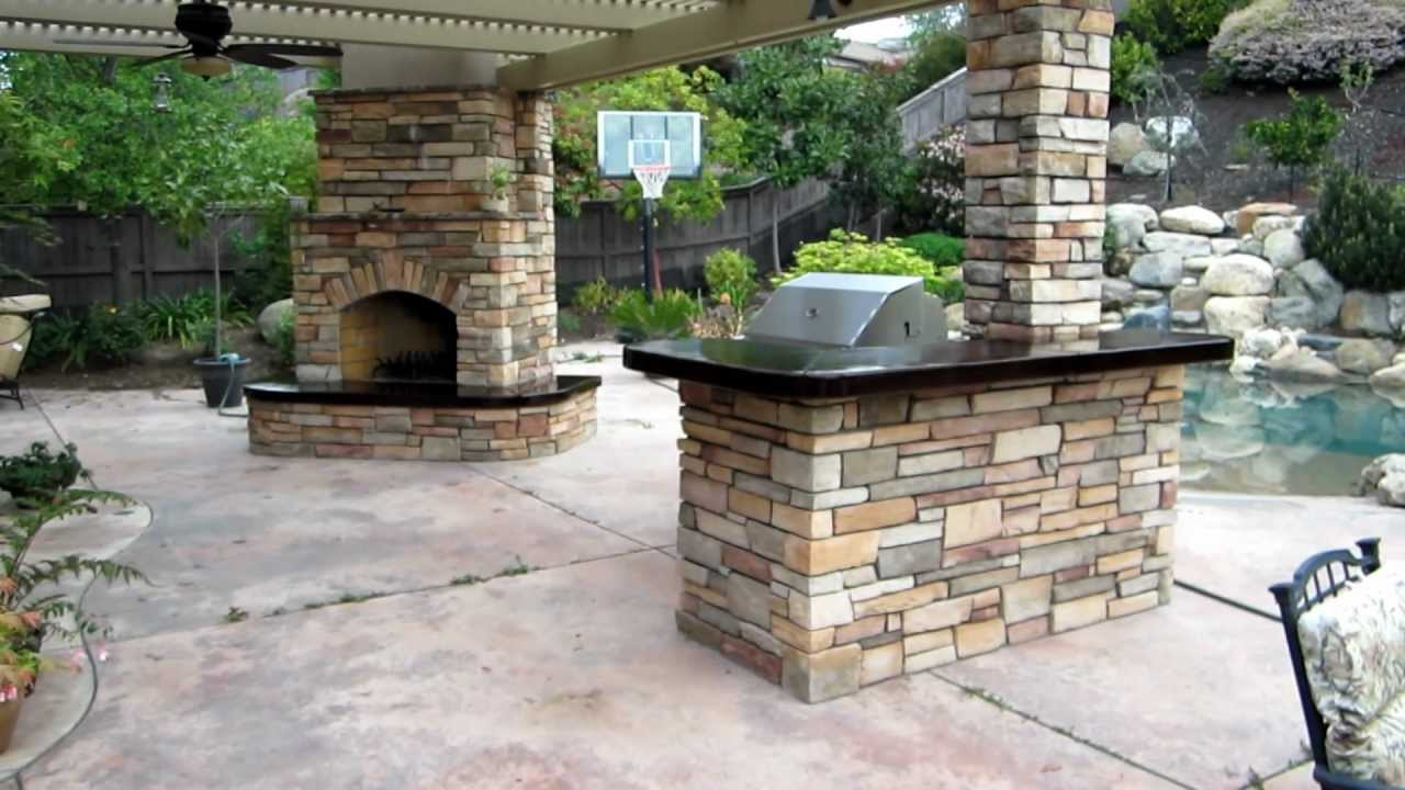 Image of: Top Eldorado Outdoor Fireplace Ideas