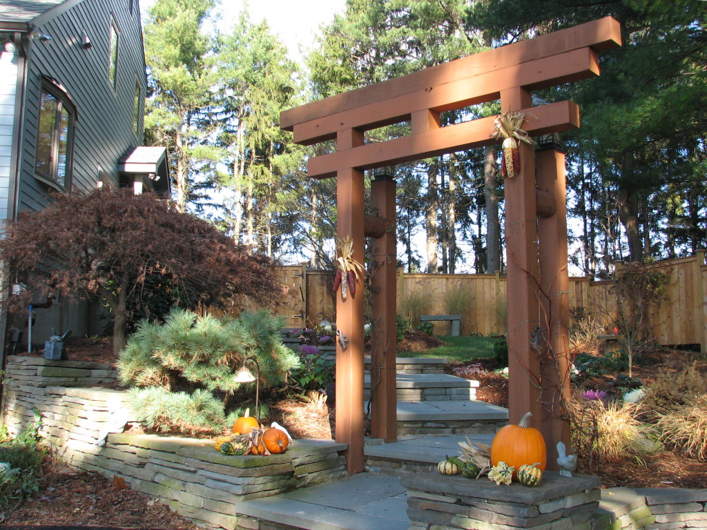 Image of: Arbor Landscaping Maryland