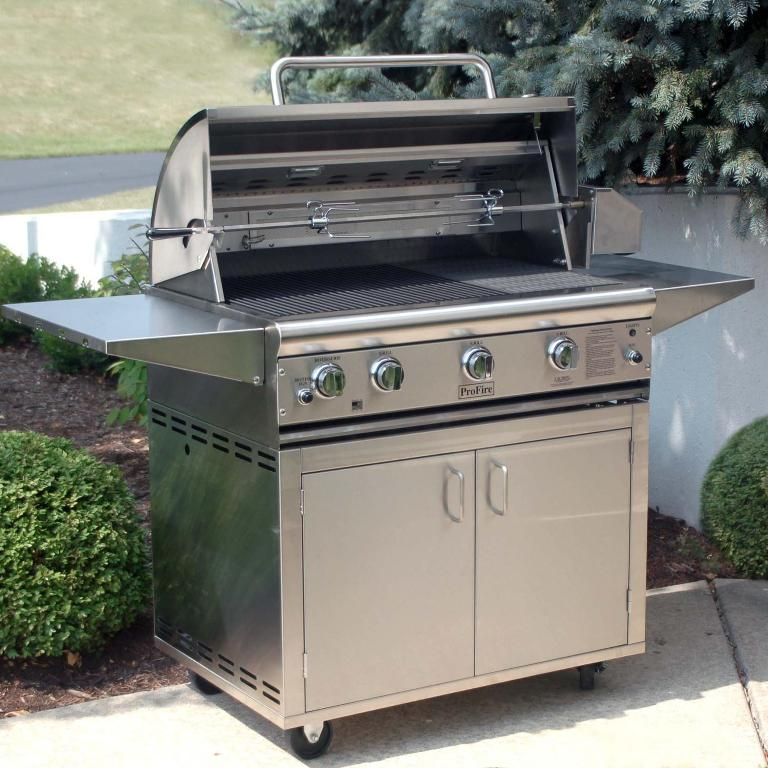 Image of: Best Outdoor Kitchen With Freestanding Grill Ideas