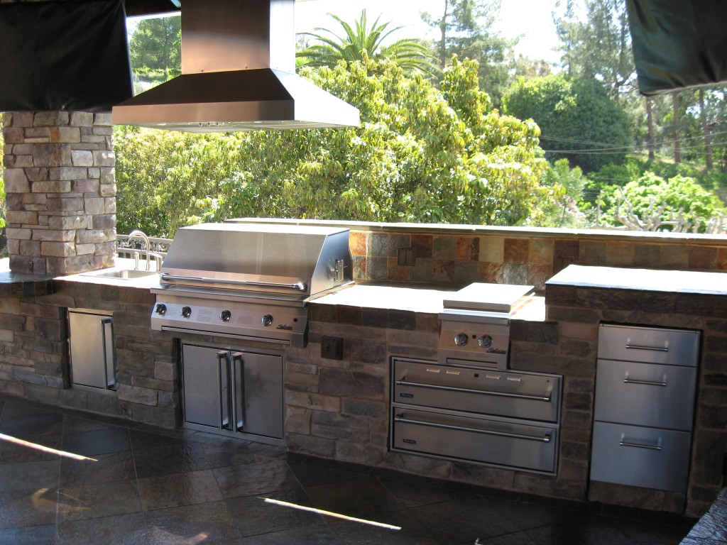 Image of: Outdoor Cooking Hoods