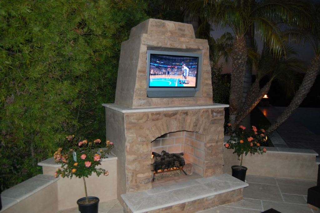 Image of: Pizza Stone For Outdoor Fireplace