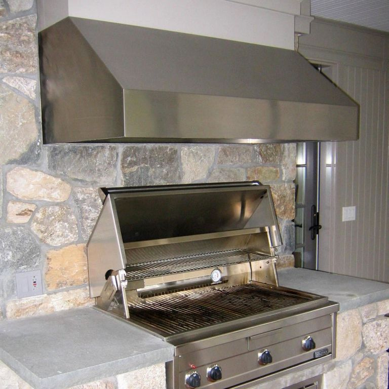 Image of: Top Outdoor Bbq Hood Vents