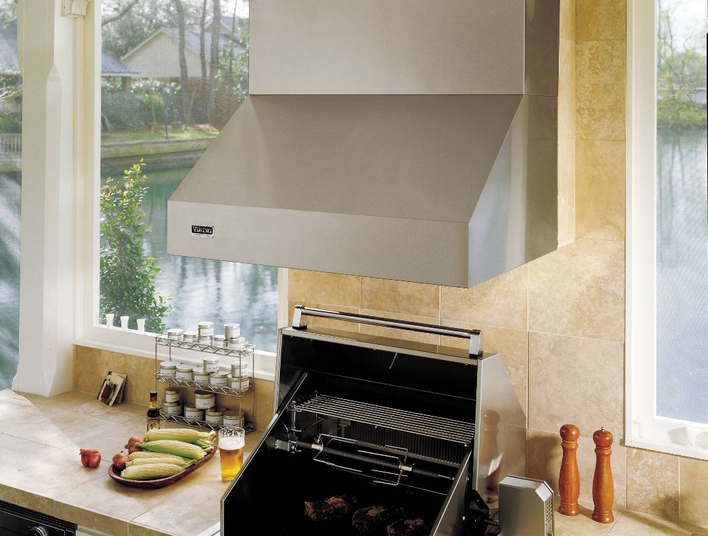Image of: Top Outdoor Vent Hood For Grill