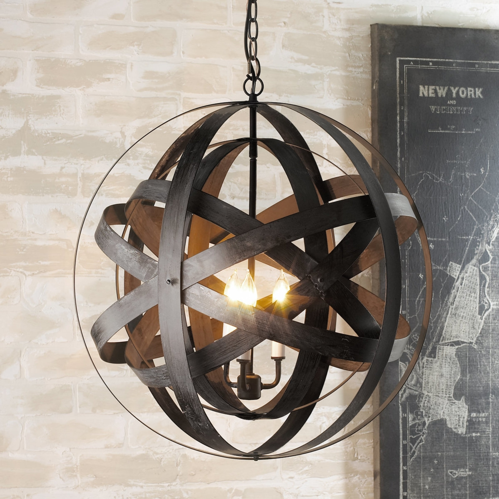 Image of: All Lanterns Chandelier Wrought Iron Outdoor Light Fixtures