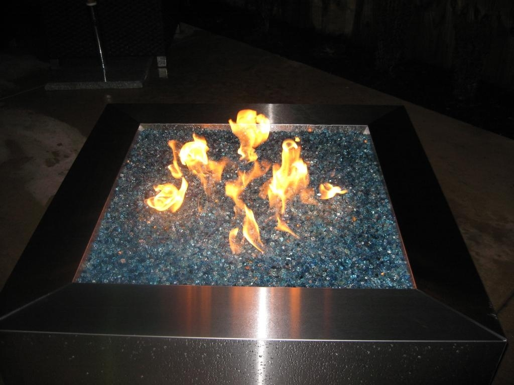 Image of: Beautiful Fire Glass Pits Kenaiheliski Pertaining To Outdoor Fireplace Glass Rocks Be Warm All Year Round With Outdoor Fireplace Glass Rocks