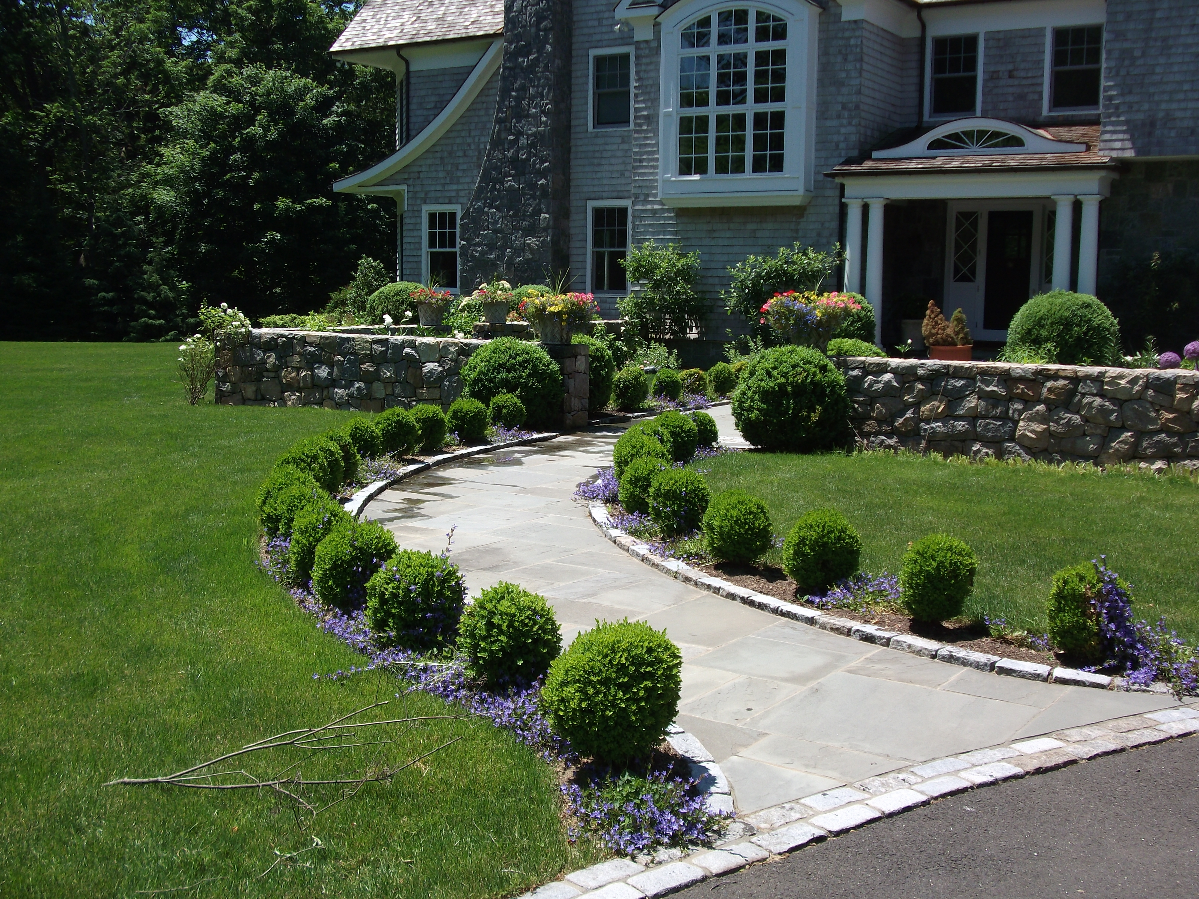 Image of: Boxwood Landscaping Company Arbor Hills Intended
