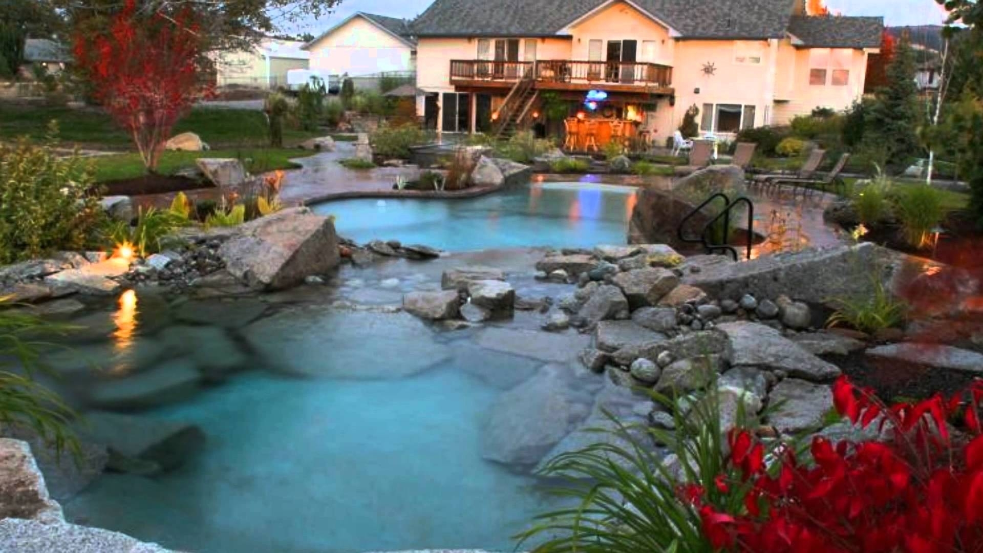 Image of: Copper Creek Landscaping Spokane Youtube With Creek Landscaping Ideas Create Creek Landscaping