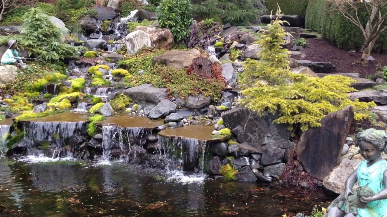 Image of: Creative Living Landscape Design Llc Landscaping With Water For Creek Landscaping Ideas Create Creek Landscaping