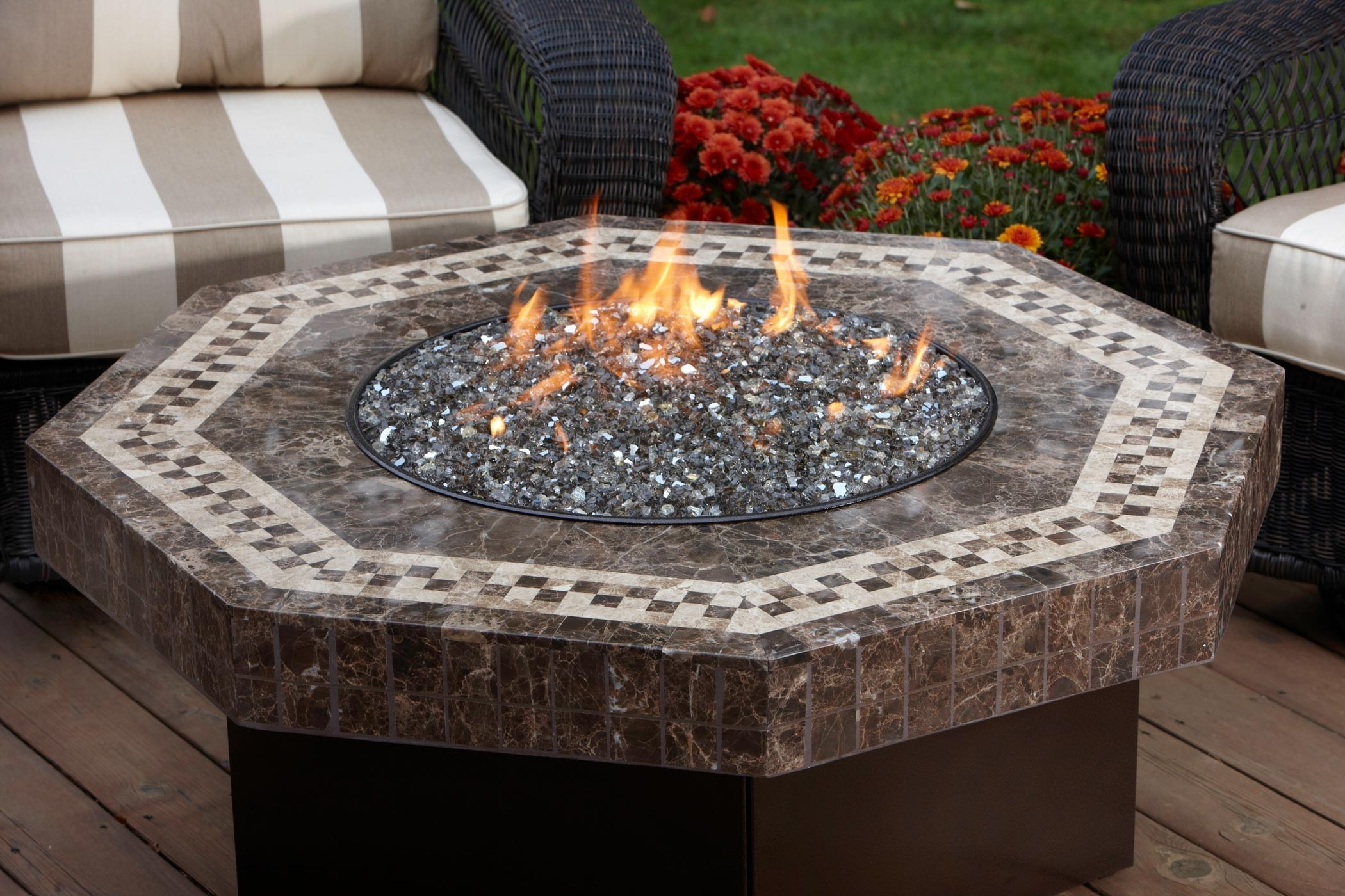Image of: Fire Pit Rocks For Natural Scenery All Home Design Solutions Inside Outdoor Fireplace Glass Rocks Be Warm All Year Round With Outdoor Fireplace Glass Rocks