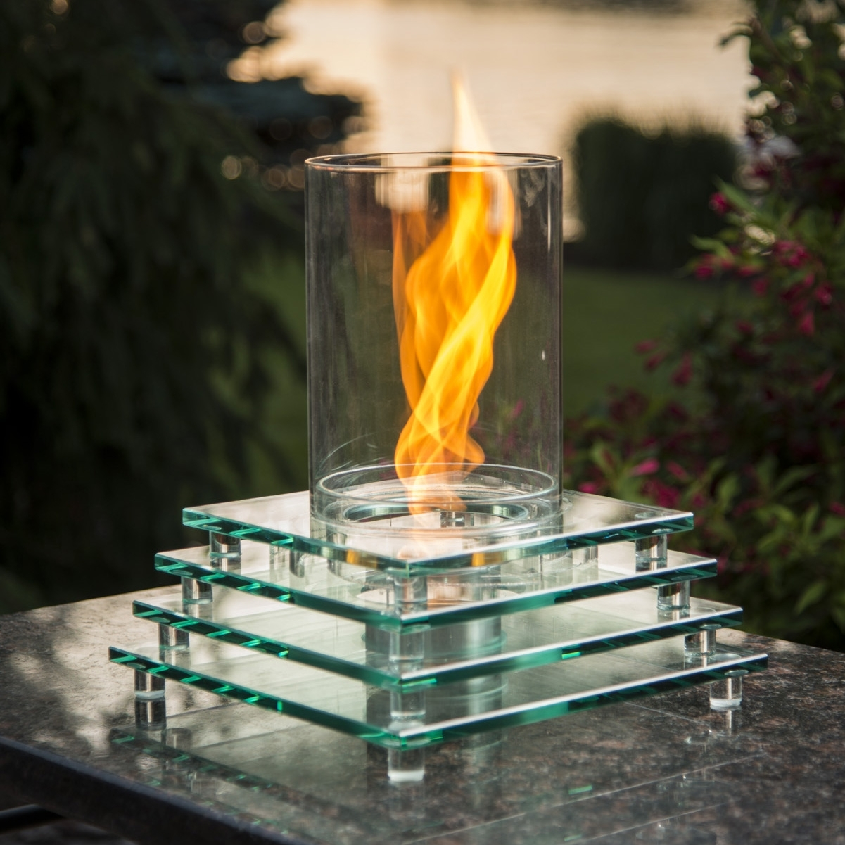 Image of: Fire Pit Tables Outdoor Fireplaces Within Outdoor Fireplace Glass Rocks Be Warm All Year Round With Outdoor Fireplace Glass Rocks