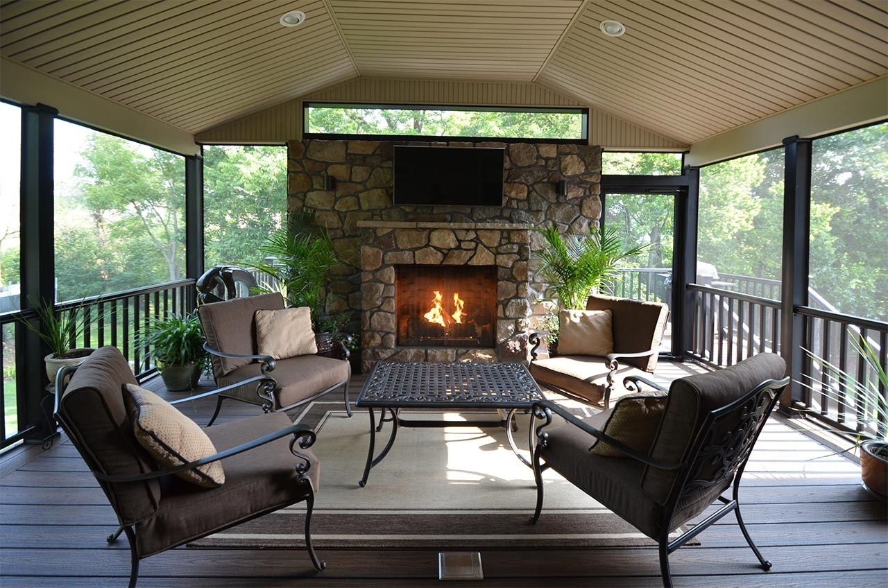 Image of: Imposing Ideas Deck Fireplace Outdoor Deck Fireplaces Fireplace Throughout Outdoor Decks With Fireplaces Outdoor Decks With Fireplaces Ideas