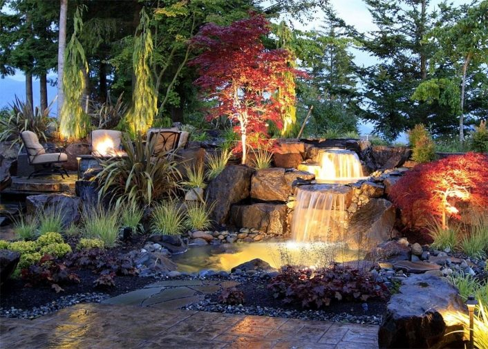 Landscaping Services In Spokane Residential Commercial Pertaining To Creek Landscaping Ideas Create Creek Landscaping