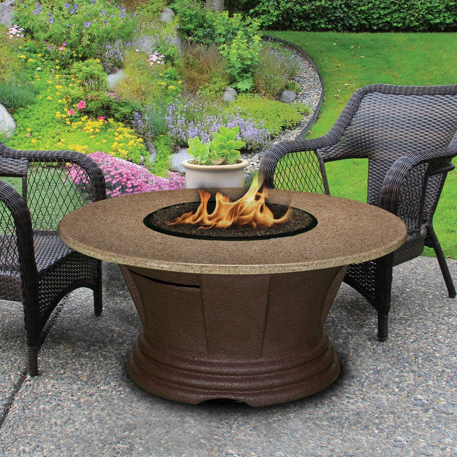 Image of: Learn About Fireplaces Chimineas Fire Pits Within Outdoor Fireplace Glass Rocks Be Warm All Year Round With Outdoor Fireplace Glass Rocks