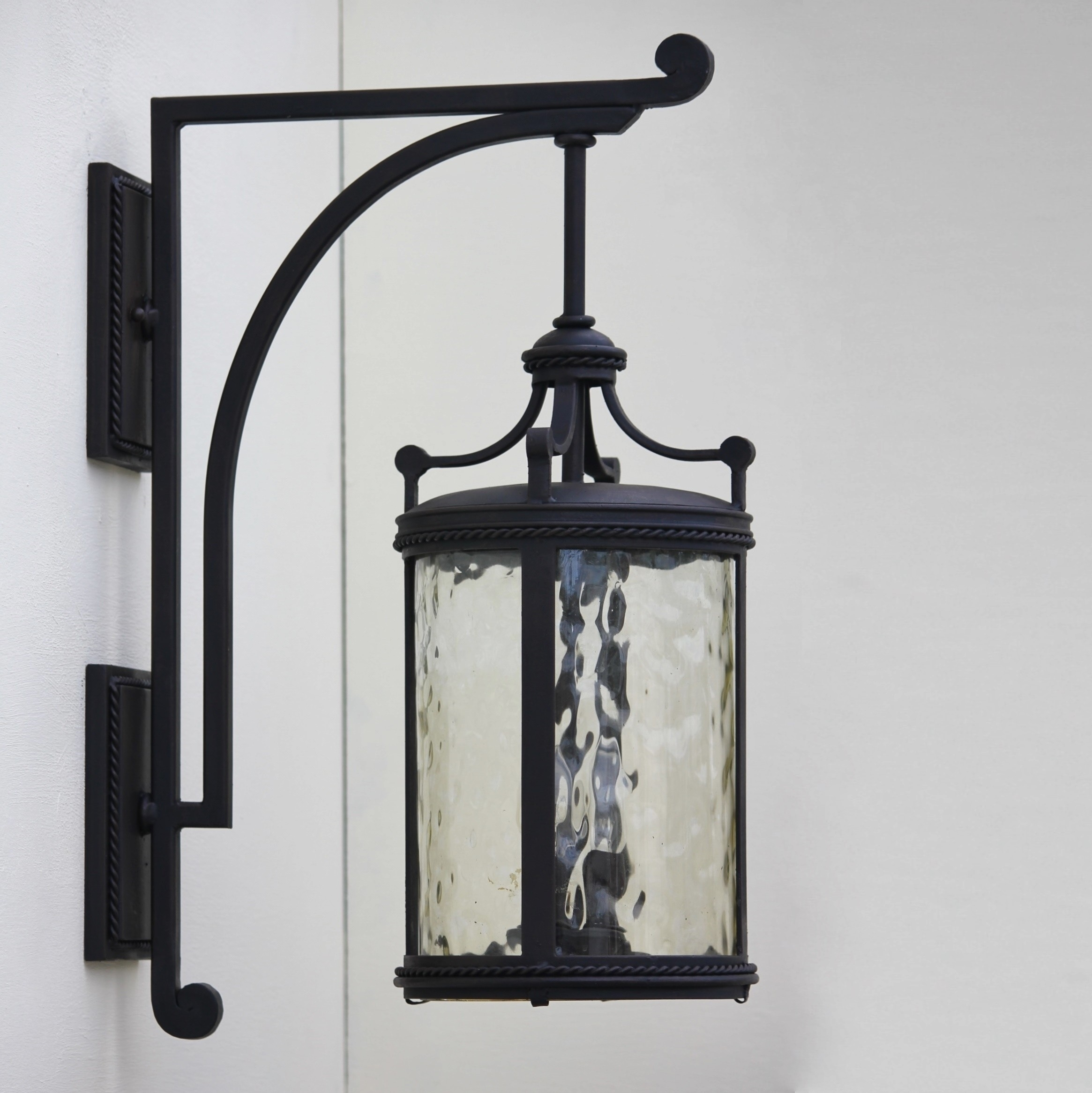 Image of: Tuscany Wrought Iron Outdoor Light Fixtures