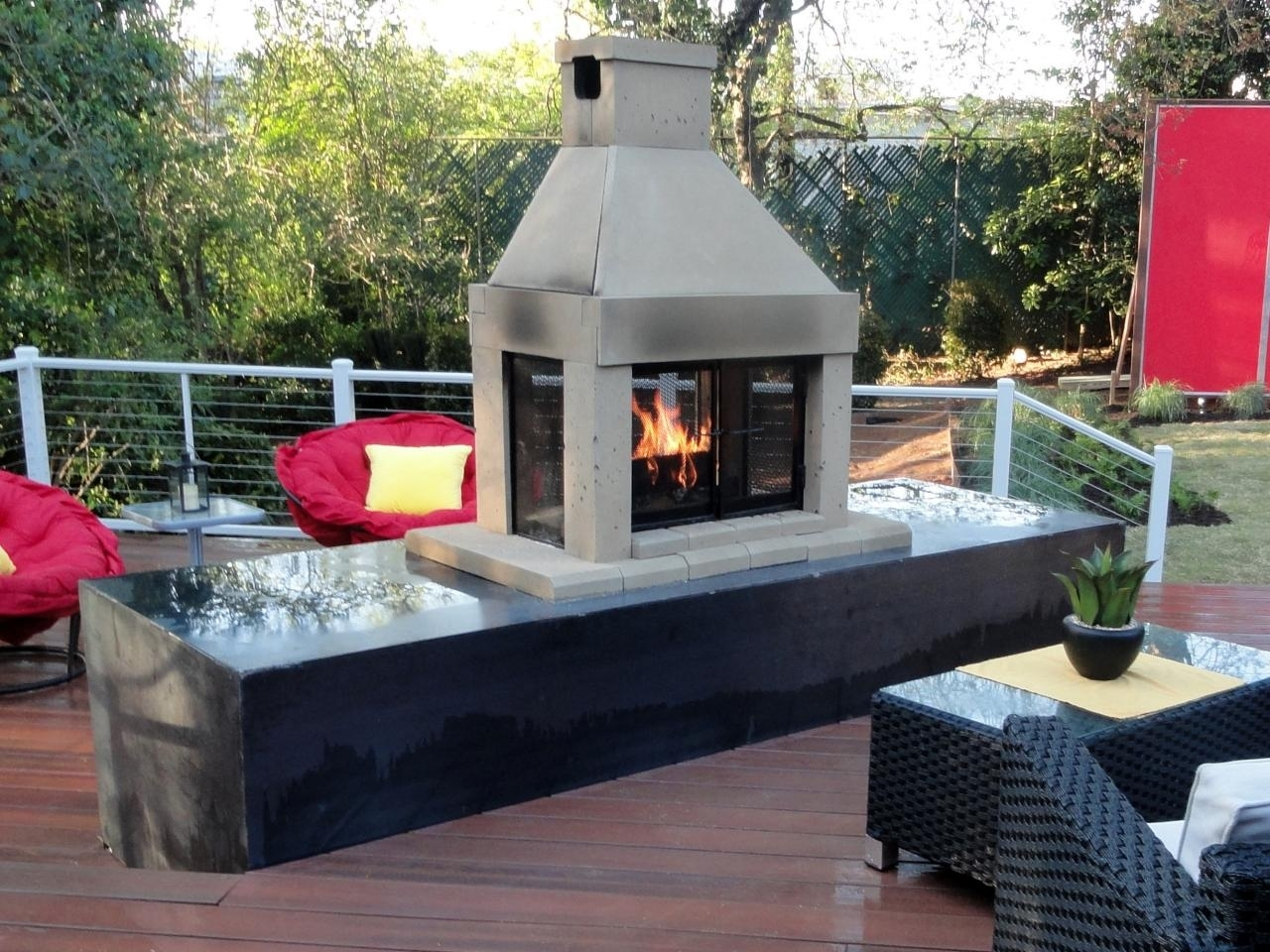 Image of: Outdoor Deck Fireplaces With Concept Image 36623 Kaajmaaja Pertaining To Outdoor Decks With Fireplaces Outdoor Decks With Fireplaces Ideas