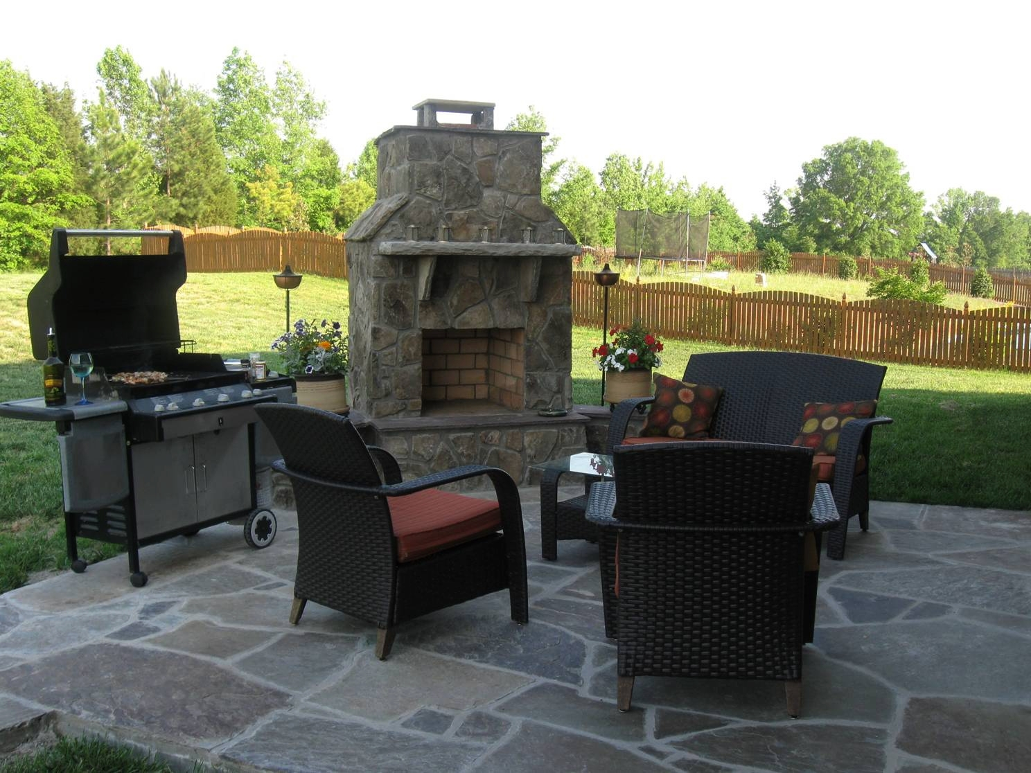 Image of: Outdoor Fireplaces Archadeck Of Charlotte Regarding Outdoor Decks With Fireplaces Outdoor Decks With Fireplaces Ideas