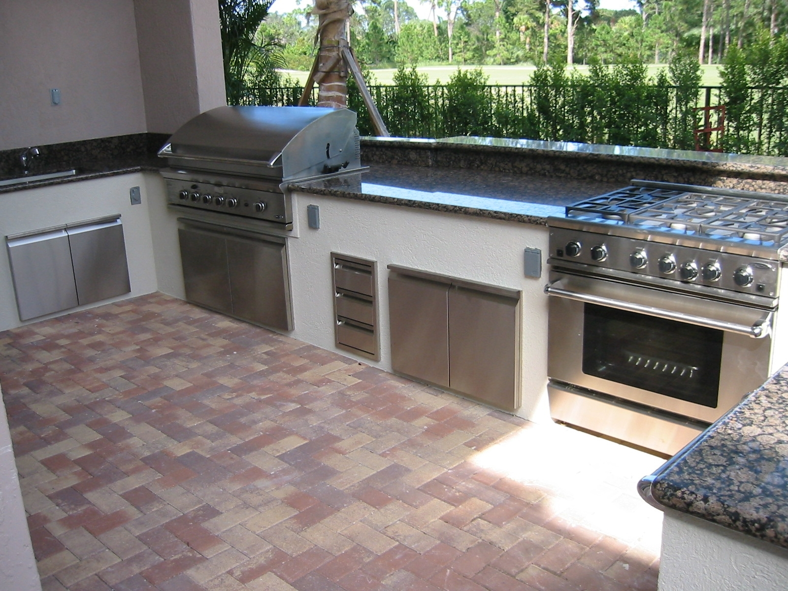 Image of: Outdoor Kitchen Design Images Grill Repair Barbeque Grill Parts Inside Bbq Outdoor Kitchens Bbq Outdoor Kitchens For Perfect Time