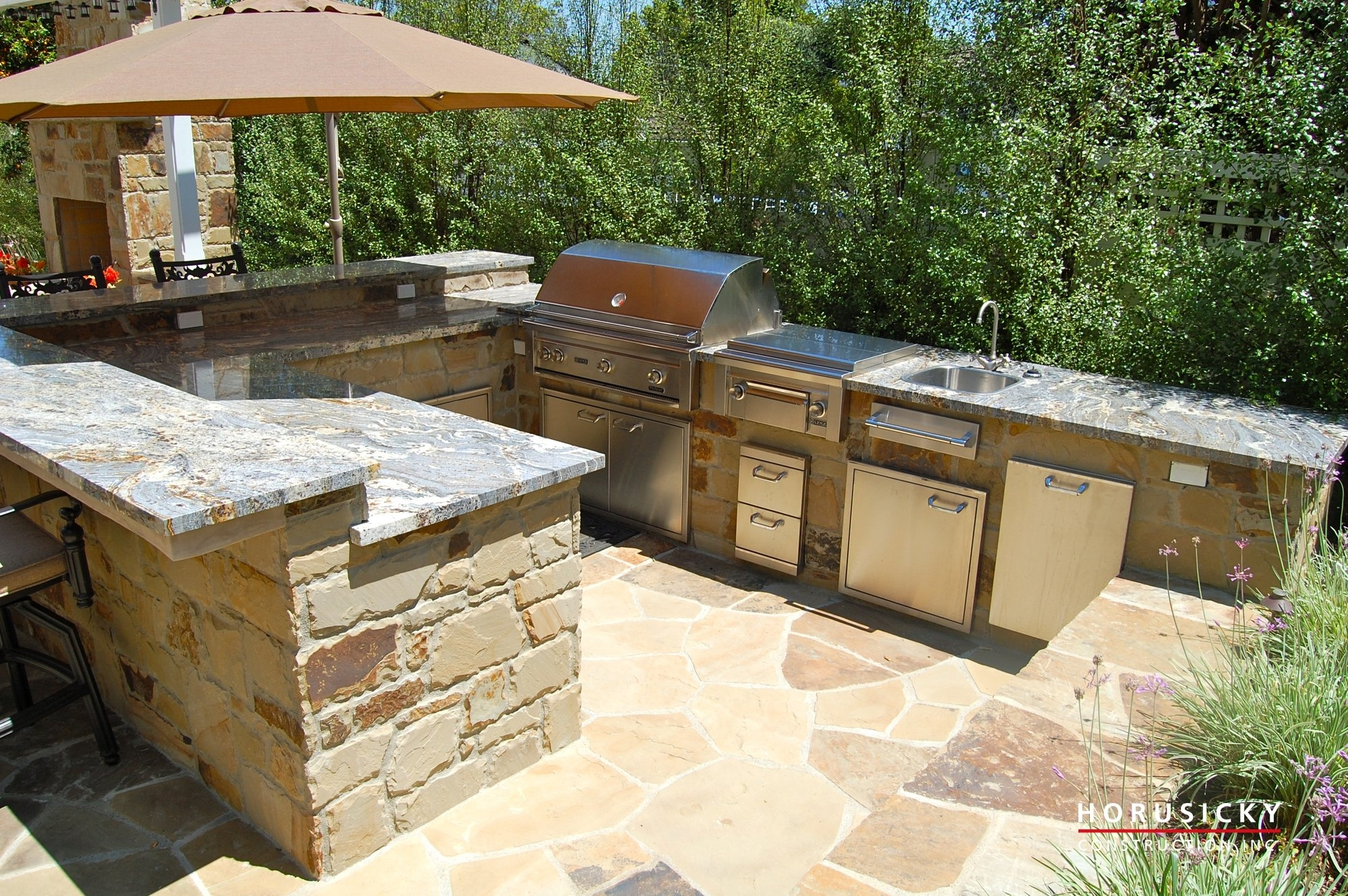 Image of: Outdoor Kitchens And Bbq Grills Horusicky Construction Within Bbq Outdoor Kitchens Bbq Outdoor Kitchens For Perfect Time