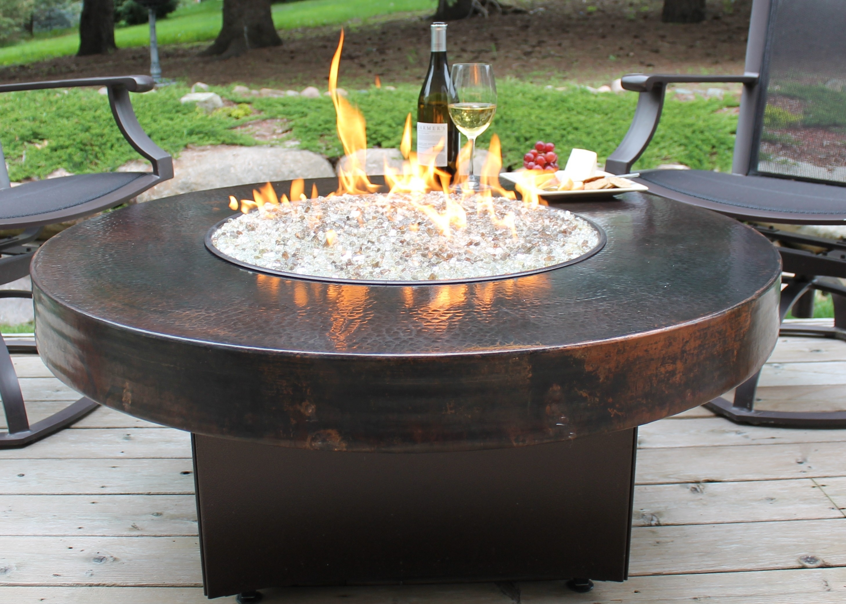 Image of: The Warming Beauty Of Fire Pit Glass Rocks The Latest Home Decor Pertaining To Outdoor Fireplace Glass Rocks Be Warm All Year Round With Outdoor Fireplace Glass Rocks