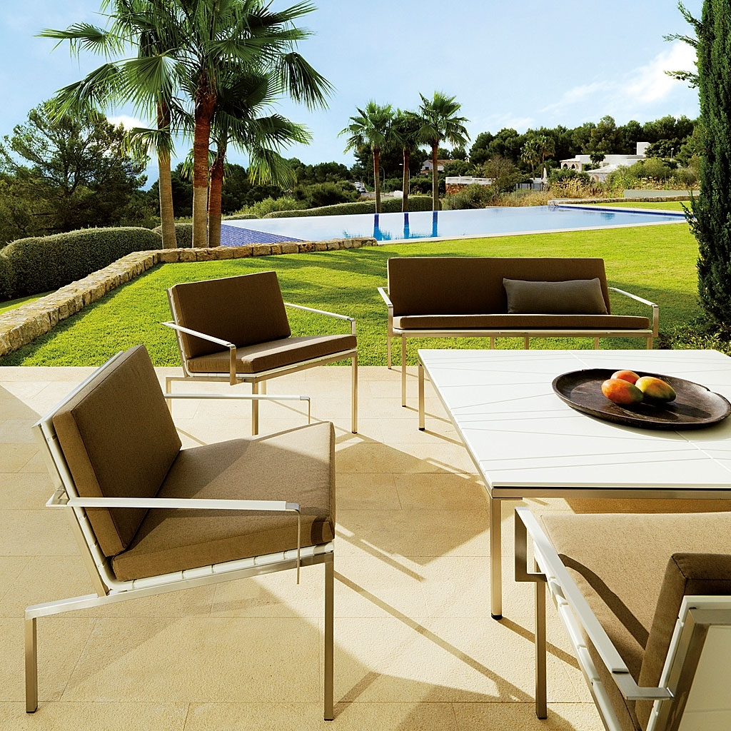 Image of: Viteo Garden Furniture Modern Austrian Design Luxury Materials Intended For Modern Outdoor Lounge Furniture Best Modern Outdoor Lounge Furniture
