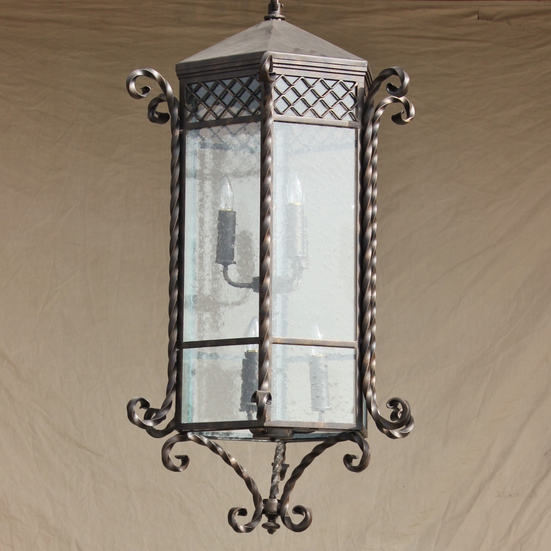 Image of: Home Fixtures Wrought Iron Outdoor Light Fixtures