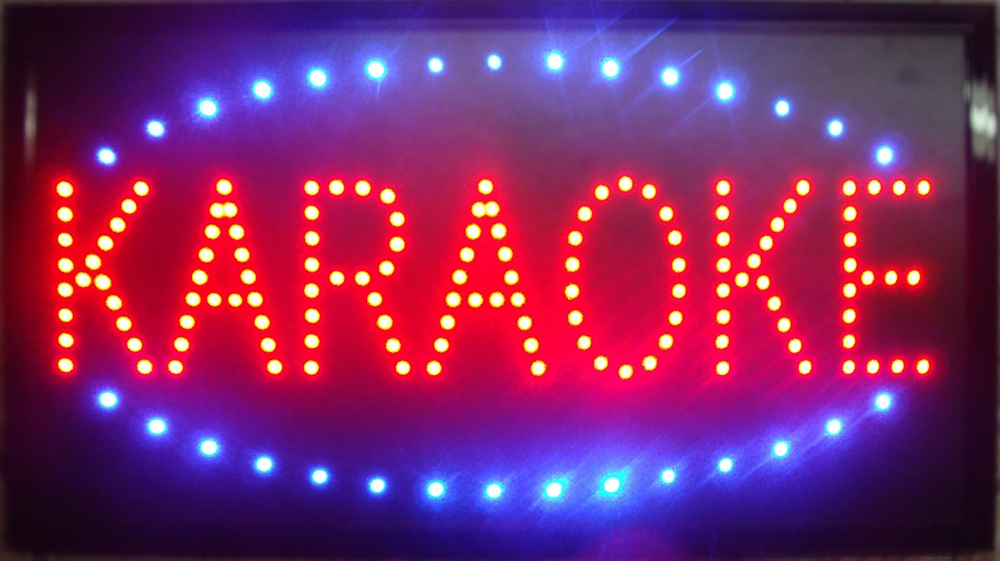 Image of: 2017 2016 Ultra Bright Led Neon Light Animated Led Karaoke Signs Throughout Sign Lights Outdoor Sign Lights Outdoor Ideas