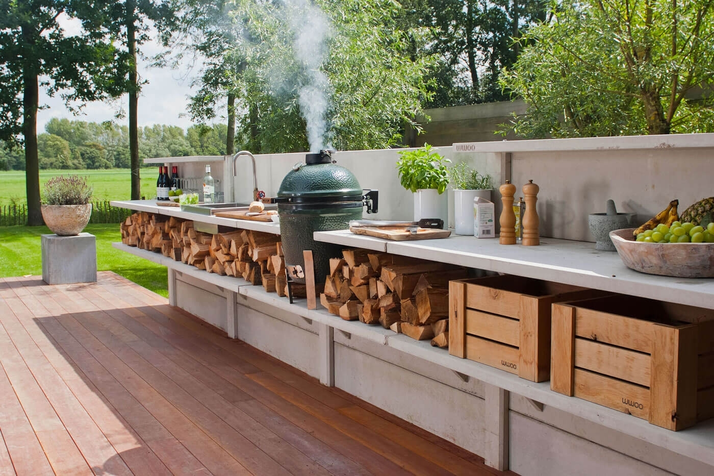 Image of: 27 Best Outdoor Kitchen Ideas And Designs For 2017 Throughout Outdoor Deck Kitchens Outdoor Deck Kitchens Perfect For All Family