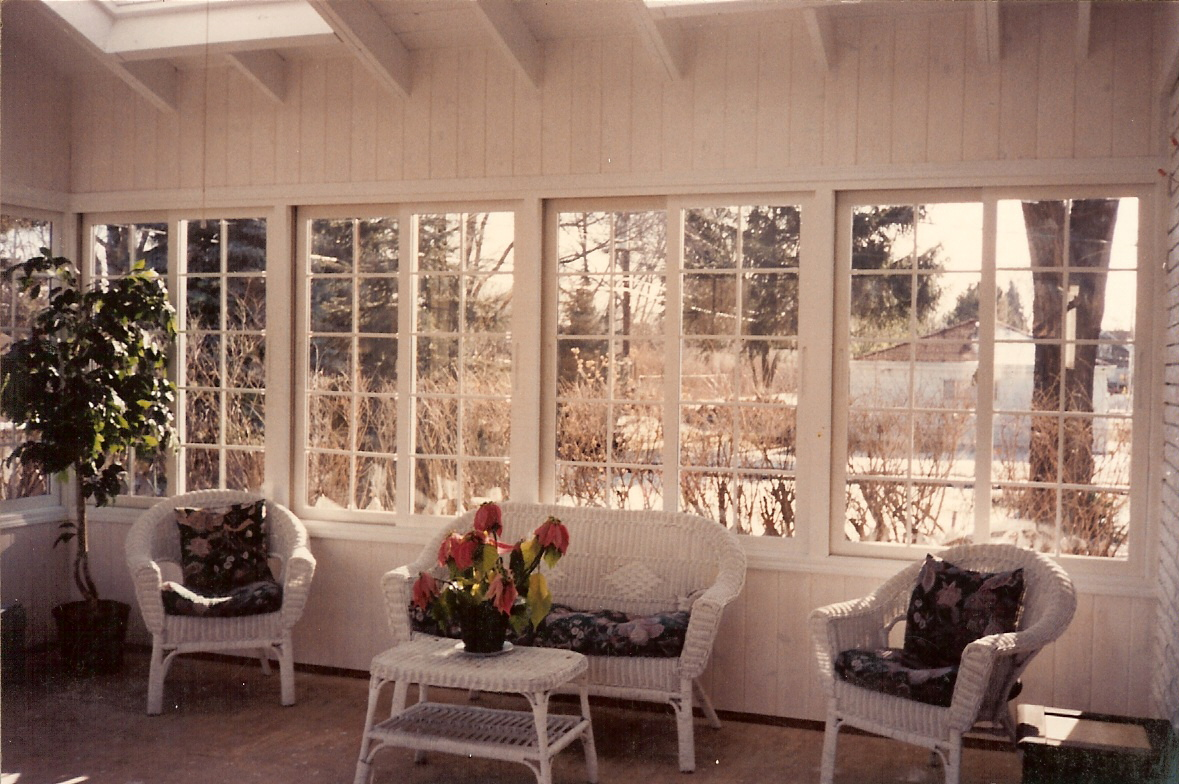 Image of: 3 Season Porch Windows Indoor