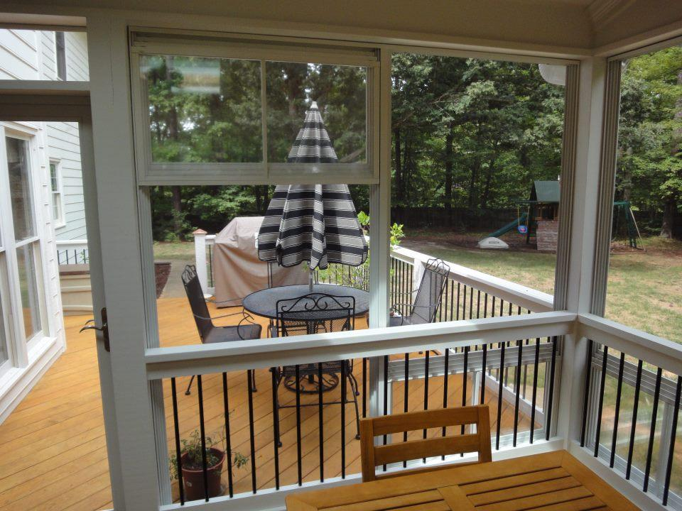Image of: 3 Season Porch Windows Small