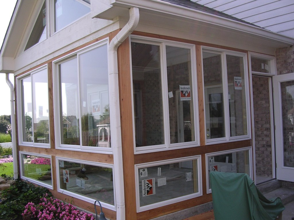 Image of: 4 Season Porch Conversion