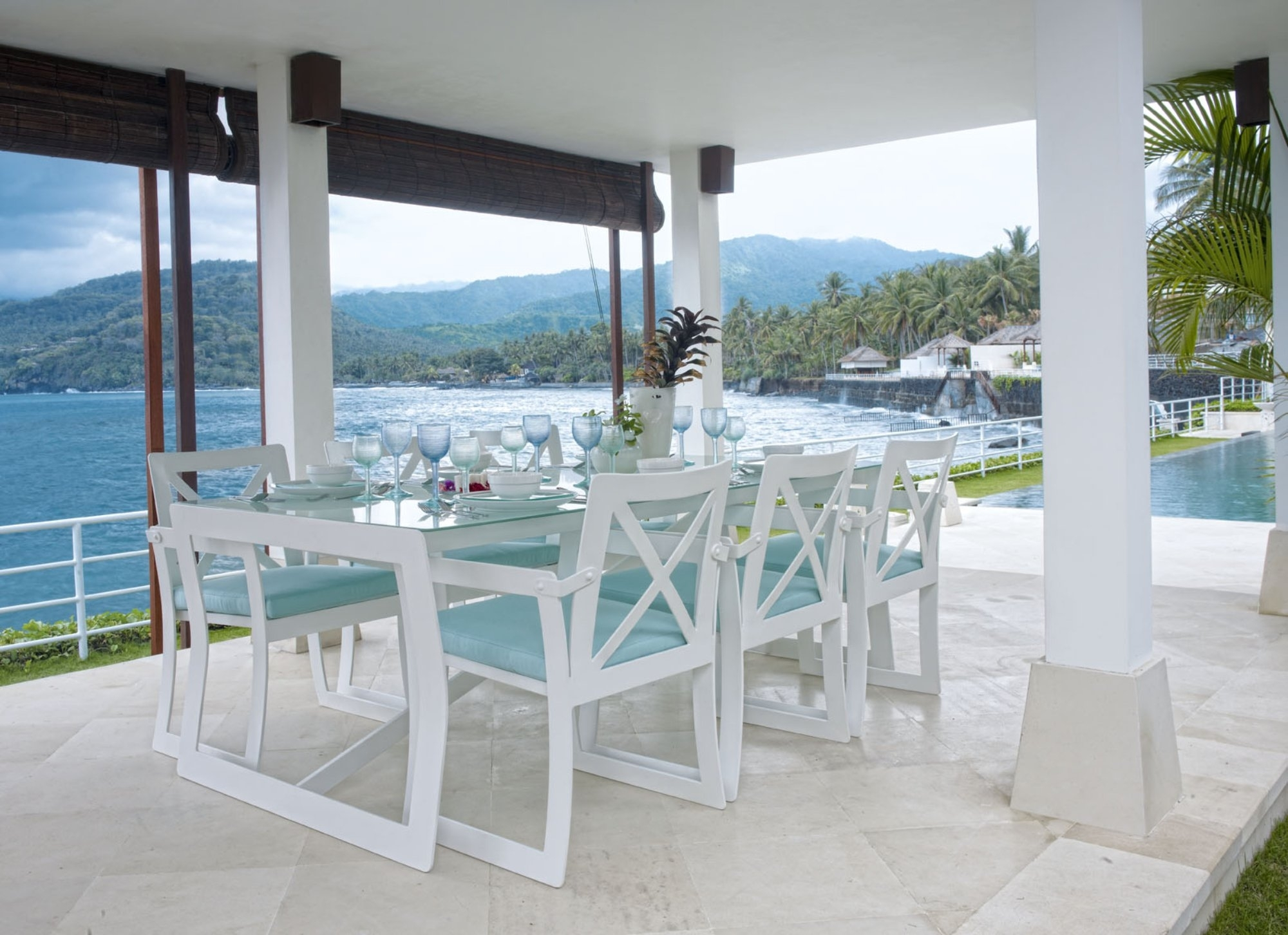 Image of: 5 Chair With Table Outdoor Hospitality Furniture