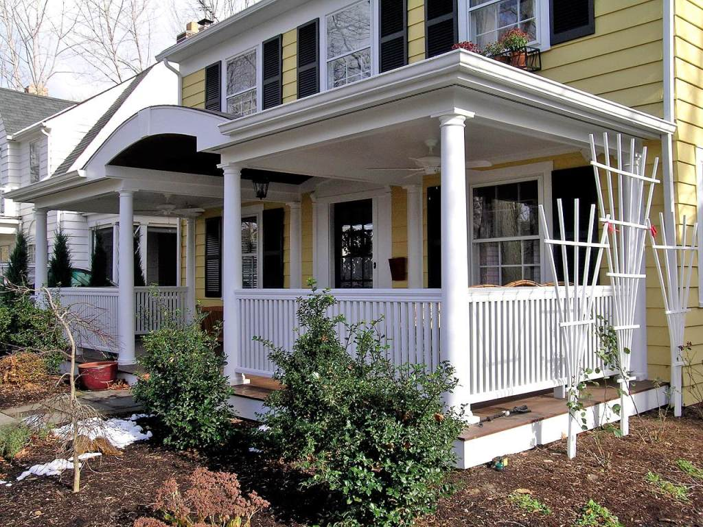 Image of: Adding A Front Porch To A Cottage