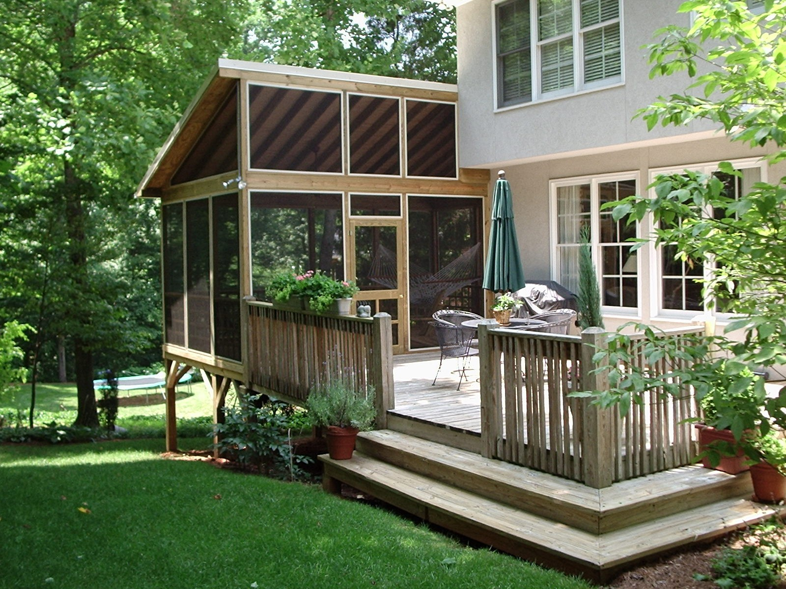 Image of: Adding A Porch To A House Pictures
