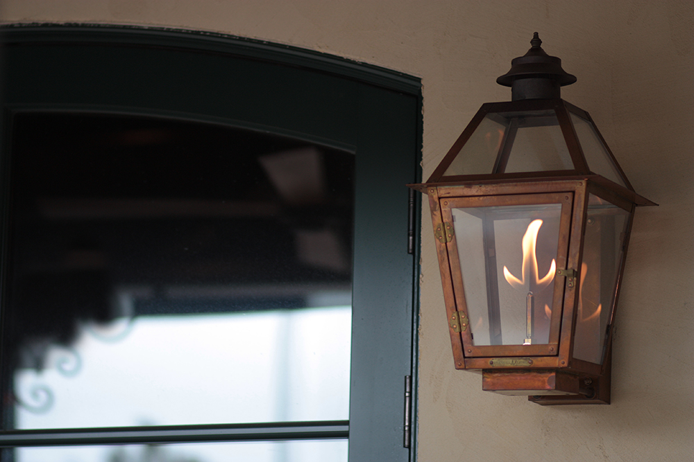 Image of: Amazing Copper Porch Light