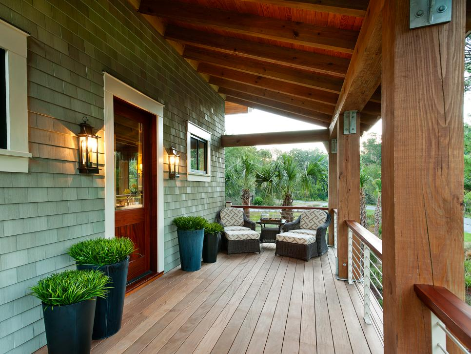 Image of: Amazing Front Porches