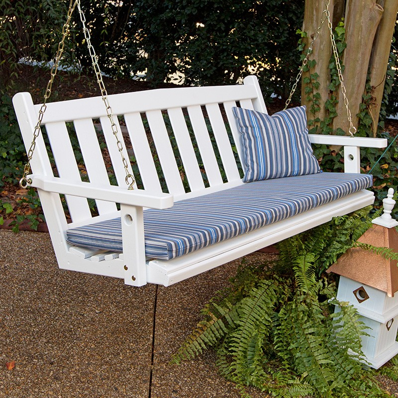 Image of: Amish Porch Swing Types
