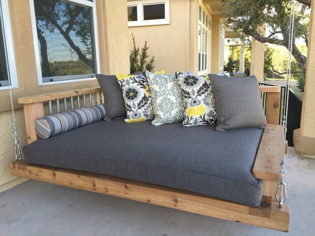 Image of: Ana White Porch Swing Bed