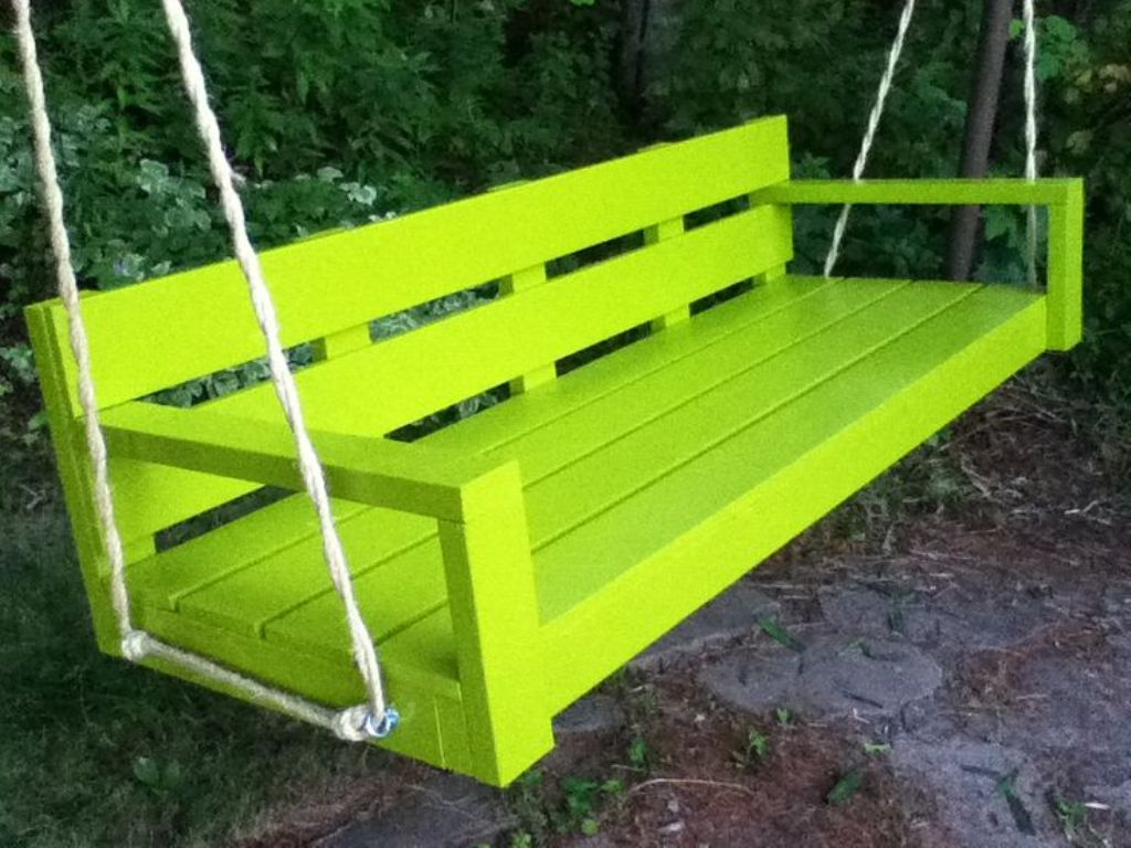 Image of: Ana White Porch Swing DIY